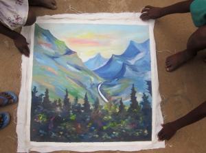 """Nortelokko's """"The mountains are alive in Alaska."""""""